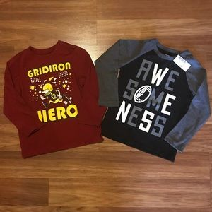 🏈 3T & 4T Children's Place Long Sleeve T's